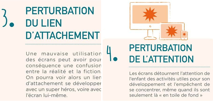 Perturbation du lien d'attachement et de l'attention